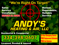 Andy's Heating & Air Llc