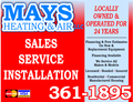 Mays Heating & Air Llc