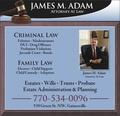 Adam James M Attorney At Law